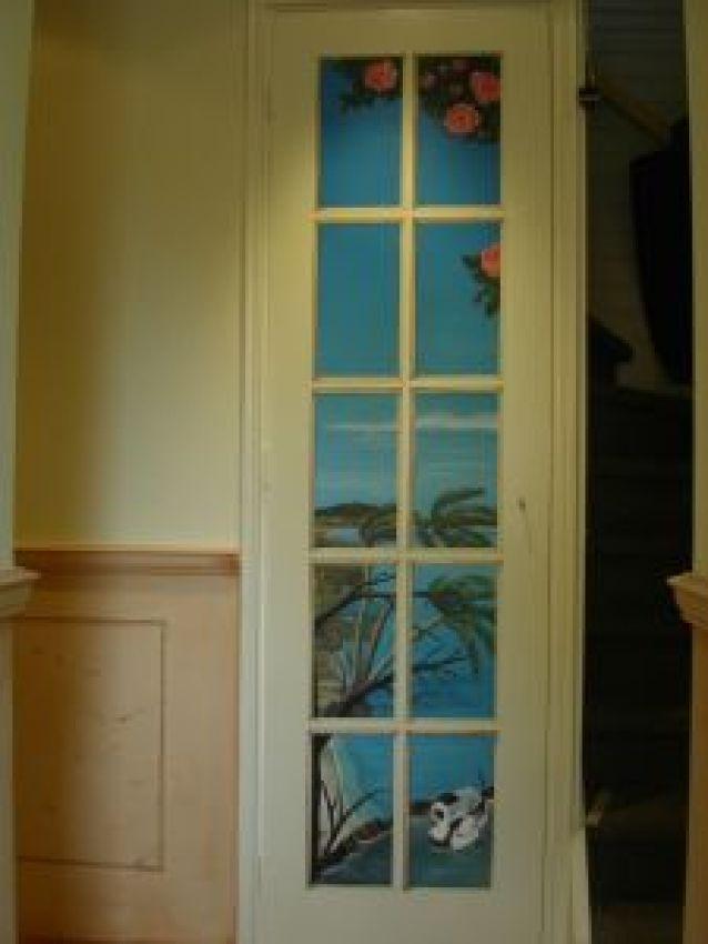 Trompe 39 l oeil ice duck art decor randolph algera for Decoration trompe l oeil